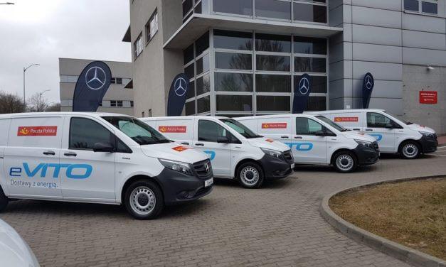 Poczta Polska pozyska flotę aut elektrycznych
