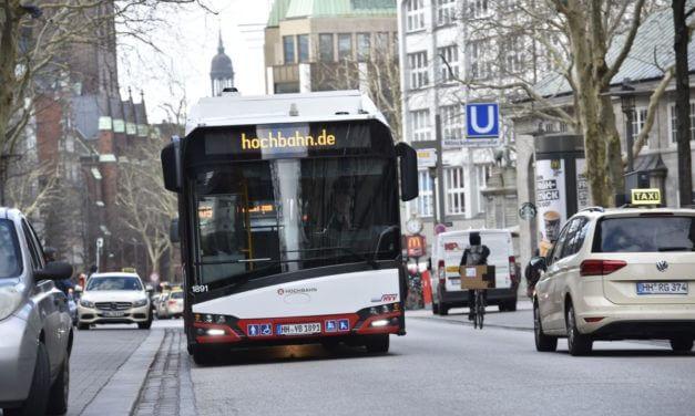 Kolejne elektryczne Solarisy w Hamburgu