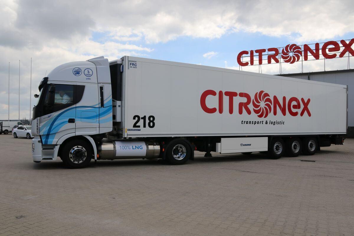 7f3e18b7598a05 Iveco Poland oraz firma Citronex podpisali umowę na dostawę 10 ciągników  siodłowych Iveco Stralis Natural Power