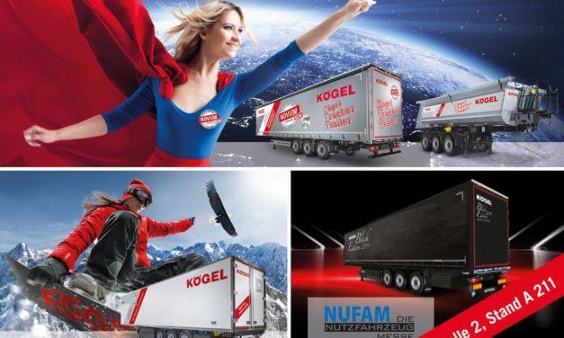 Intensywa kampania Kögel KTT w Nufam 2019