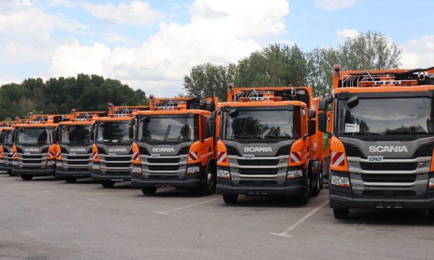 18 pojazdów Scania dla MPO w Warszawie