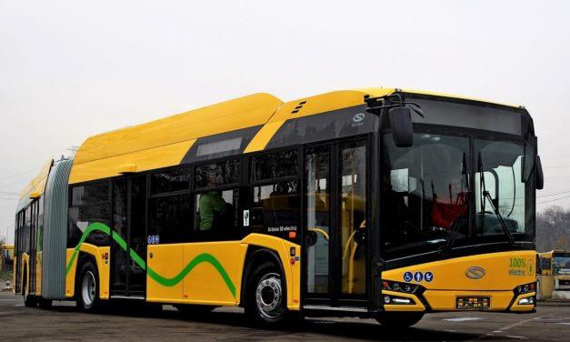 5 Solarisów Urbino 12 electric dla PKM Katowice