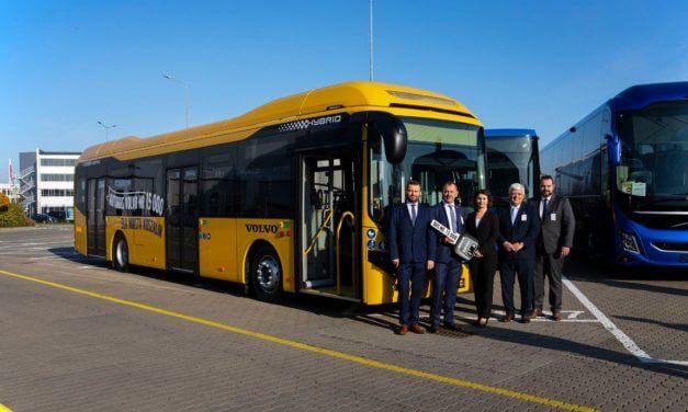 15-tysięczny autobus wyprodukowany we wrocławskiej fabryce Volvo