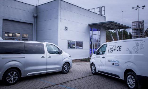 Pierwsze salony nowej marki aut dostawczych Toyota Professional