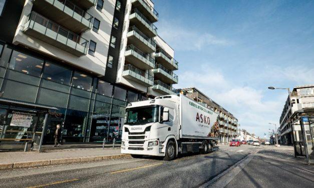 Elektryczna Scania w Oslo