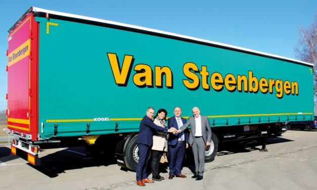 100 naczep Kögel dla Van Steenbergen Transport