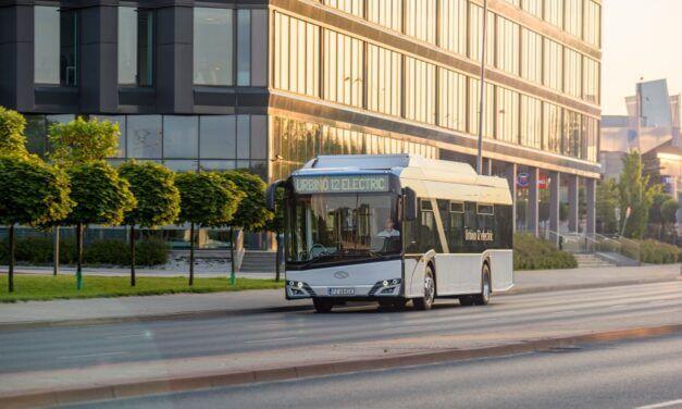Solaris liderem polskiego rynku autobusów elektrycznych