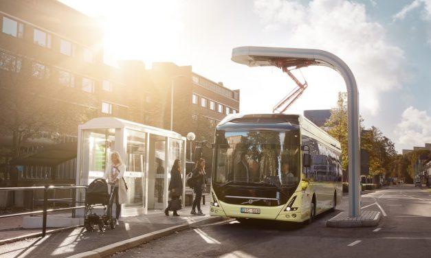 17 elektrycznych Volvo trafi do Łodzi