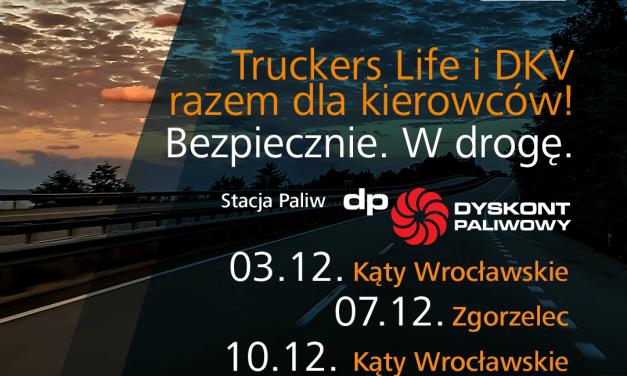 """""""Bezpiecznie. W drogę."""" z DKV i Truckers Life!"""