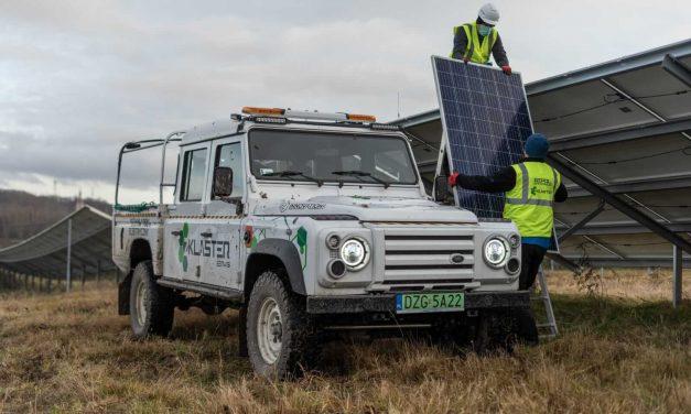 Pierwsze w Polsce elektryczne pogotowie energetyczne.